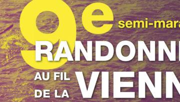 Ouverture des inscriptions à la 9e Randonnée au fil de la Vienne !